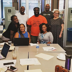 Meet our E.D. and some of our board members! They had a strategic board meeting to prepare