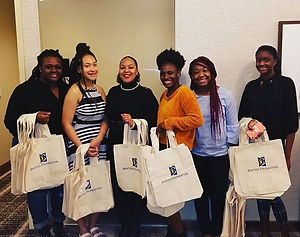 Fierce Inspiring Young Adults (F.I.Y.A.) volunteering for the @bartko_foundationpgh Irene'