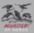 Murder of Nerds Podcast logo