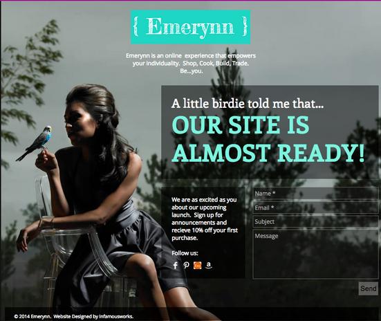 Emerynn Coming Soon Site