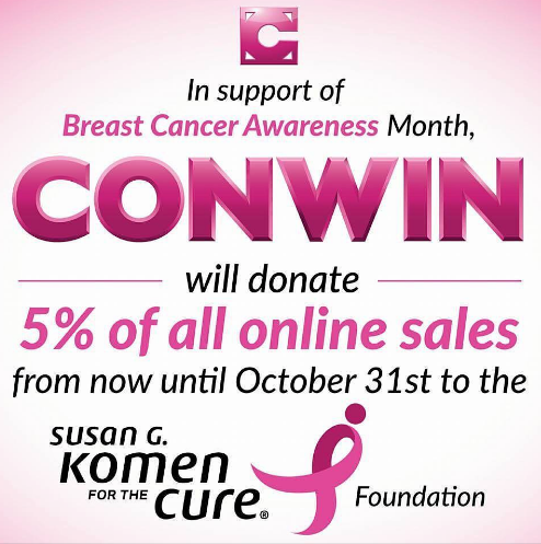 Conwin Susan G. Komen Ad
