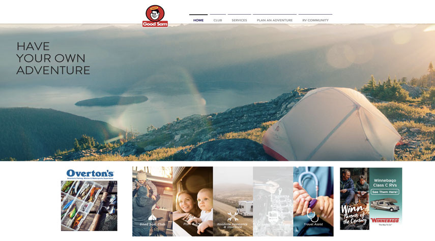 Good Sam Website Concept