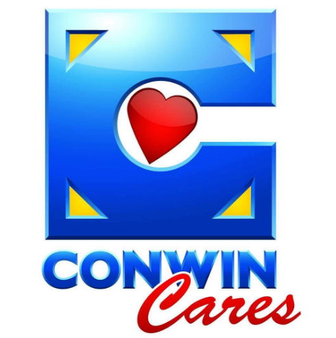 Conwin Cares Logo conceptualized by Infamousworks