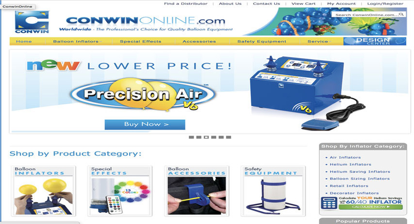 Conwin Carbonic Website