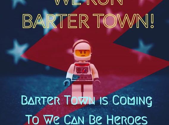 Digital Ad 2 - Digital Ad 1 - Ad For Vendor Toy Fair Called Barter Town