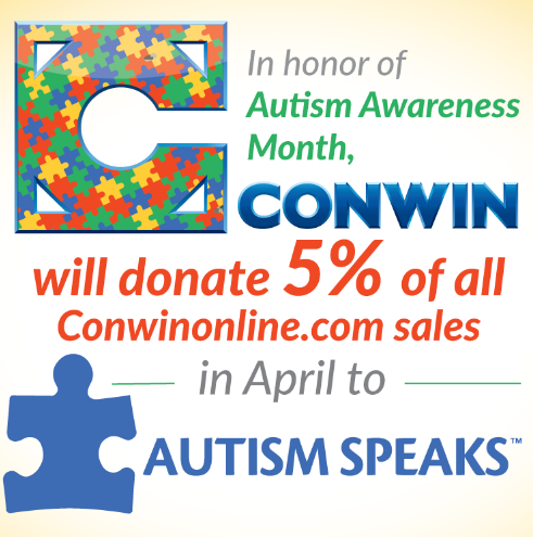 Autism Speaks Conwin campaign