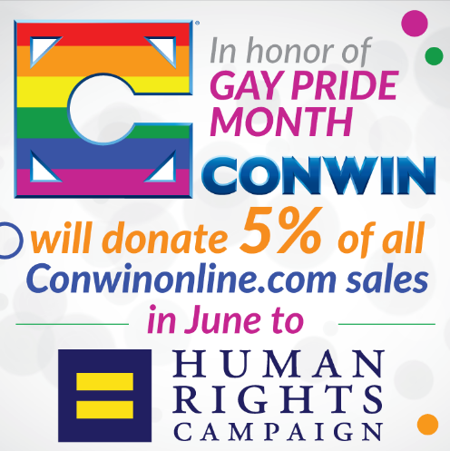 Pride Month Conwin Banner
