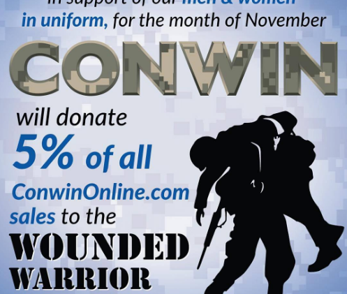 Conwin Wounded Warrior Ad by Infamousworks