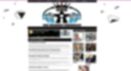 The Infamous Chronicles website desiged by Infamousworks