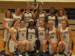 Baldwin Middle School Basketball Team 2016