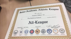 Inter-Academic All-League Award