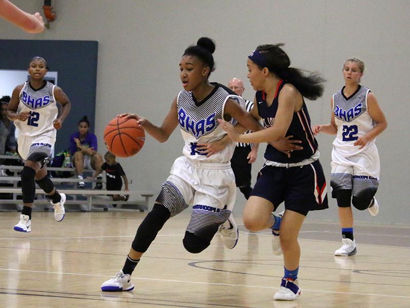 Amaris, Taja & Taylor USA Basketball