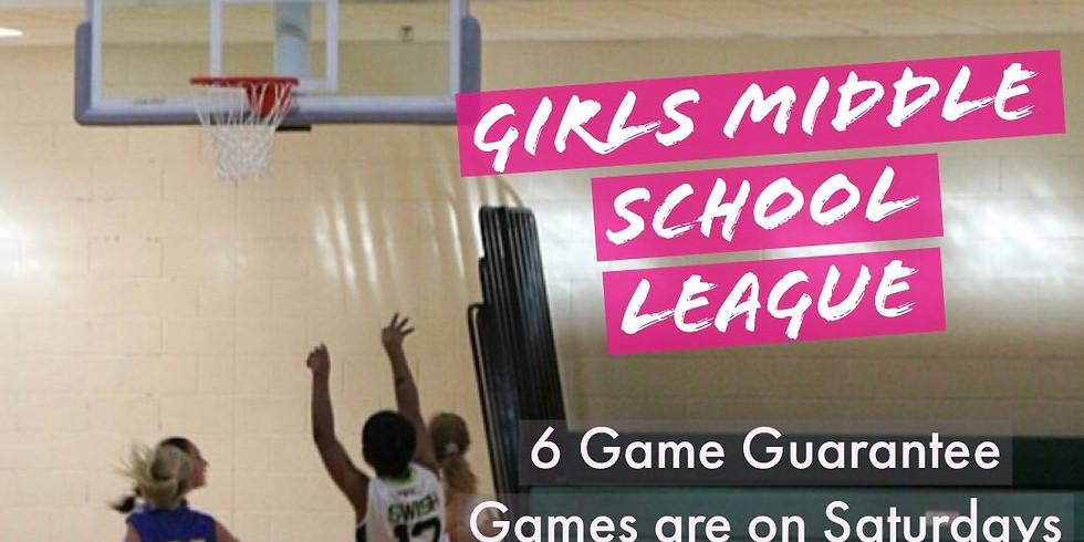 Bakerhoops Girls Middle School League