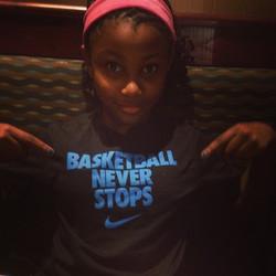 Basketball never sleeps!