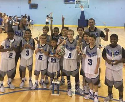 10u Boys Champions at the Charger Nation
