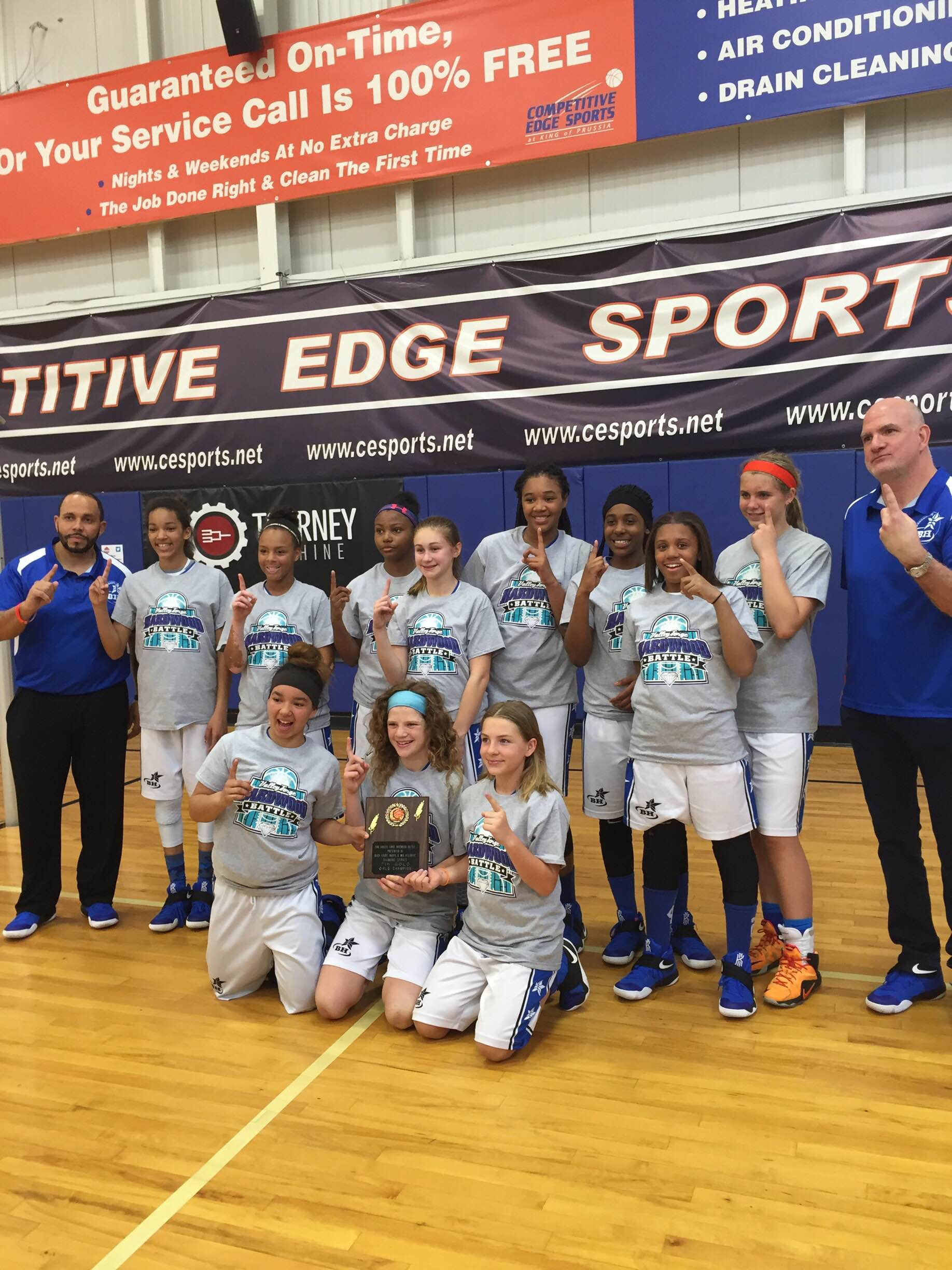 2016 Valley Forge Hardwood Champions