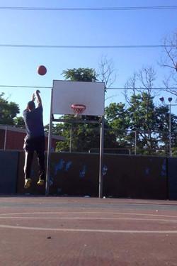 Shooting Form at McCreesh Playground