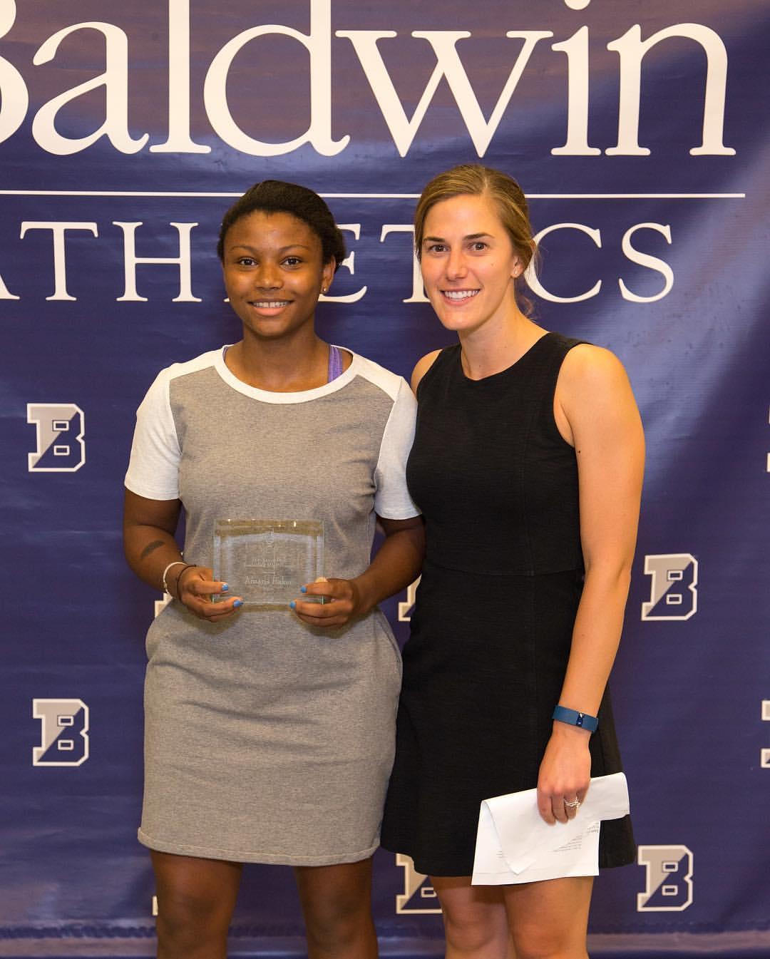 Baldwin's Nancy Park MVP Award Recipient Amaris Baker
