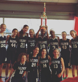 Baldwin Middle School Champions