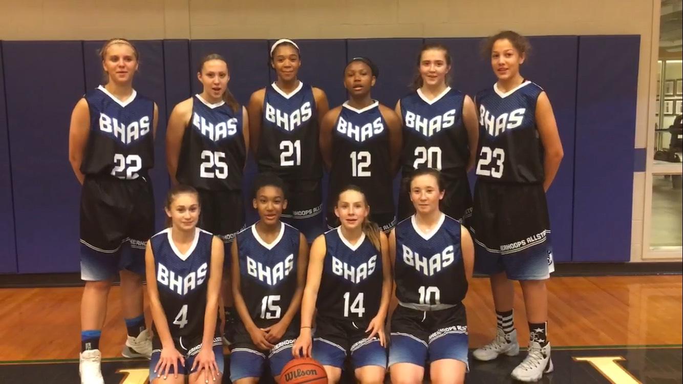 2017 Bakerhoops AllStars 8th Grade Team