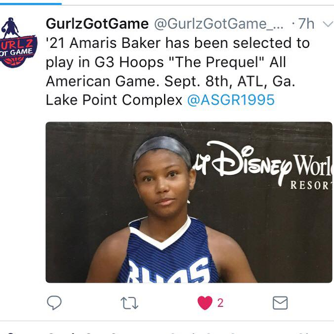 G3 Hoops AllStar Game Invitation