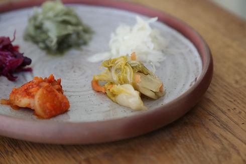 kimchi und sauerkraut