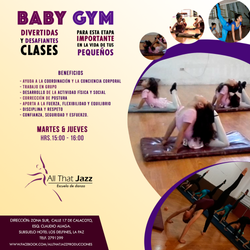 Clases Baby Gym (ATJ)