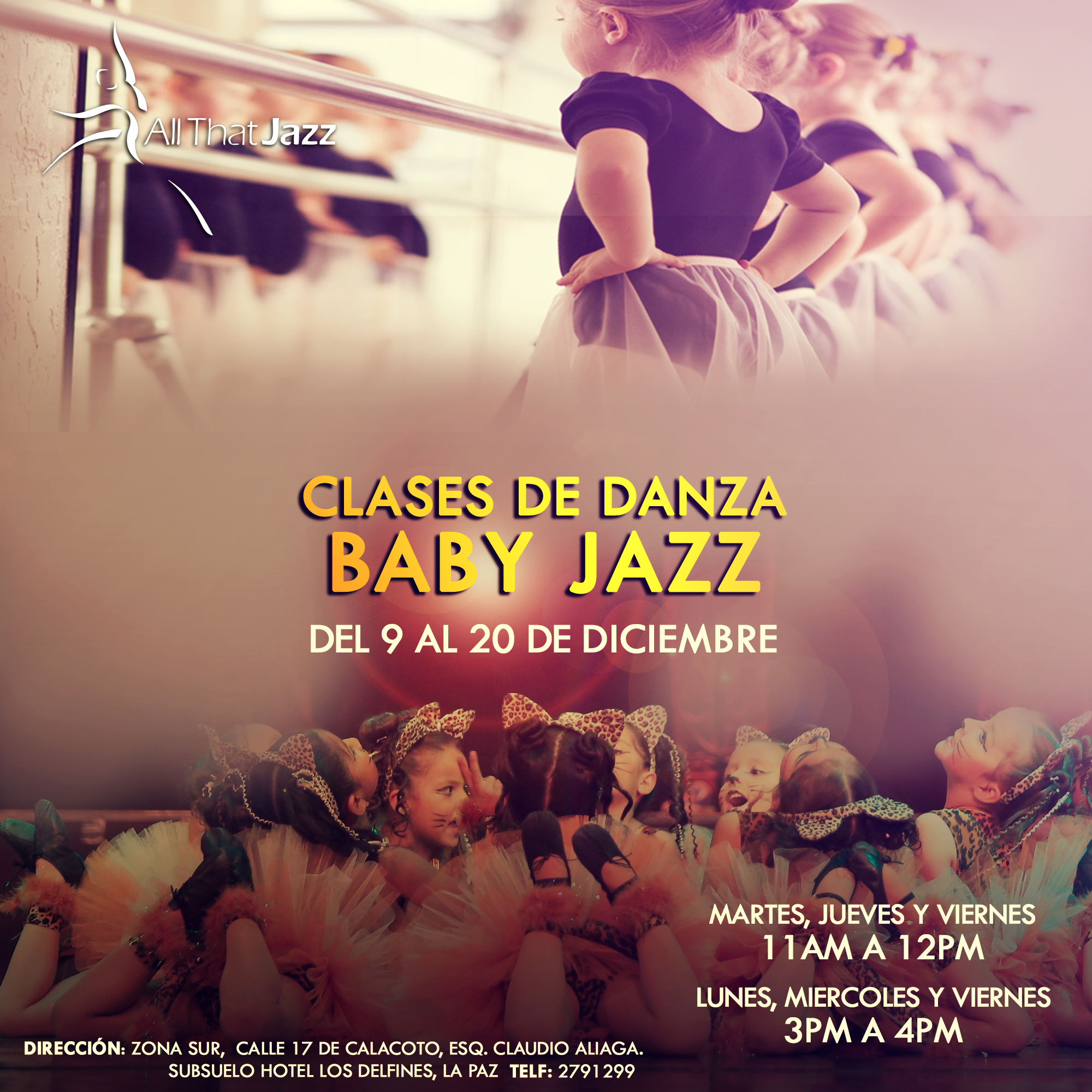 Clases Baby Jazz (ATJ)