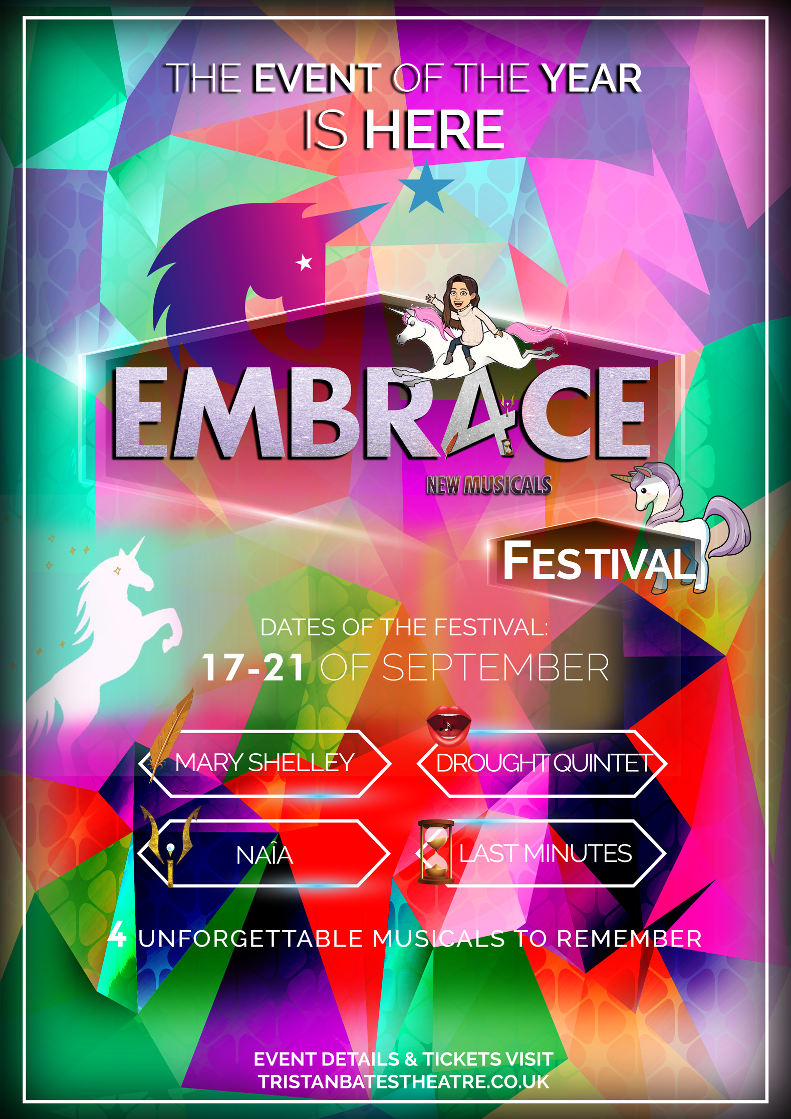 EMBR4CE Poster Unicornversion