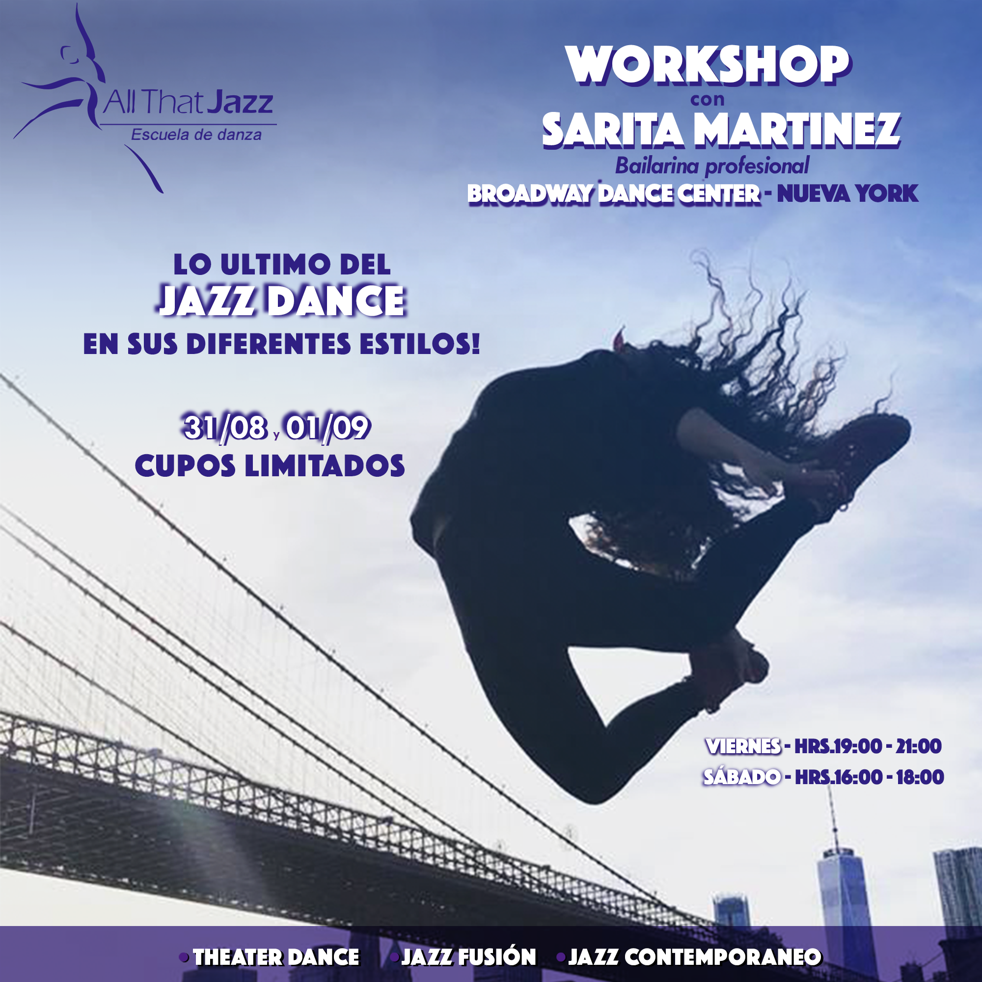 Workshop Jazz Dance (ATJ)
