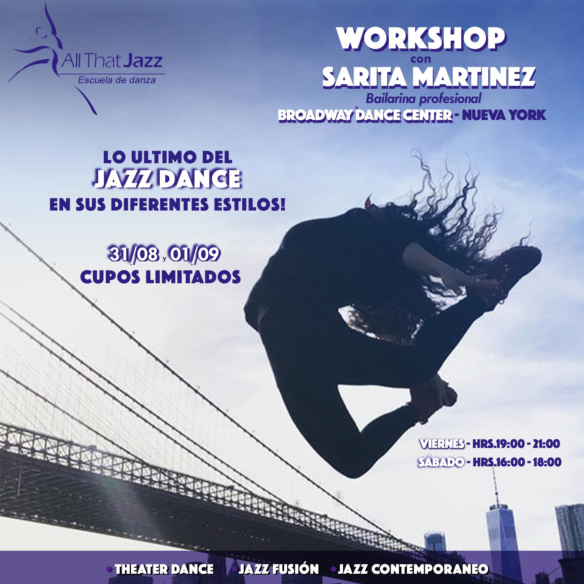 Workshop Jazz Dance (ATJ)