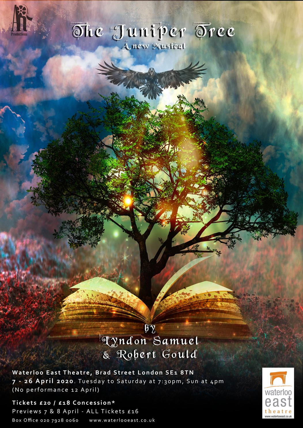 Poster - Juniper Tree Musical (Official)