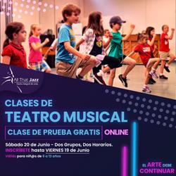 Clases Teatro Musical (ATJ)