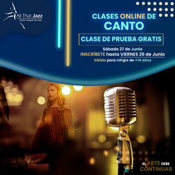 Clases Online Canto (ATJ)