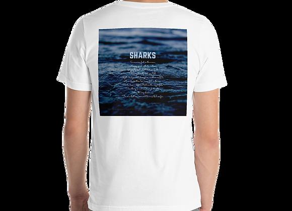 """Sharks"" Short Sleeve Unisex T-Shirt"