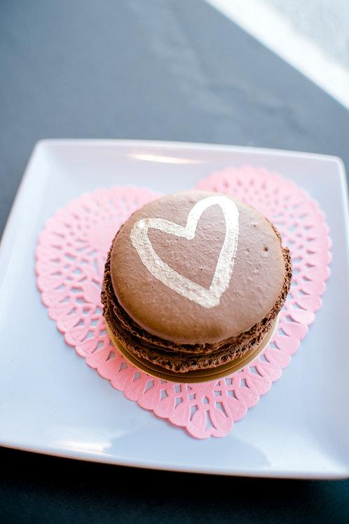 Chocolate Praline Macaron