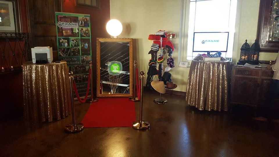 Frame Entertainment Event Setup
