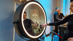 Frame Entertainment Beauty Mirror Booth.