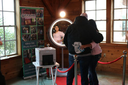 Frame Entertainment Beauty Mirror at the