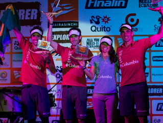 Second for the second time in a row ARWC2014- Ecuador
