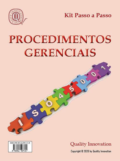 Procedimentos  da ISO 45001