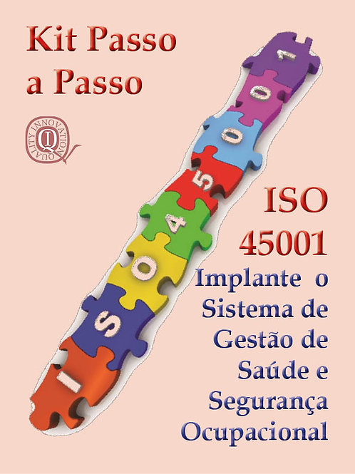 Kit ISO 45001 com todos os materiais