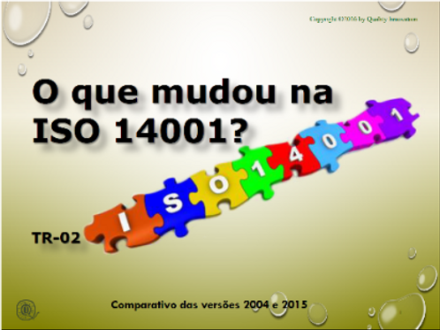 14001:2015 X 14001:2004