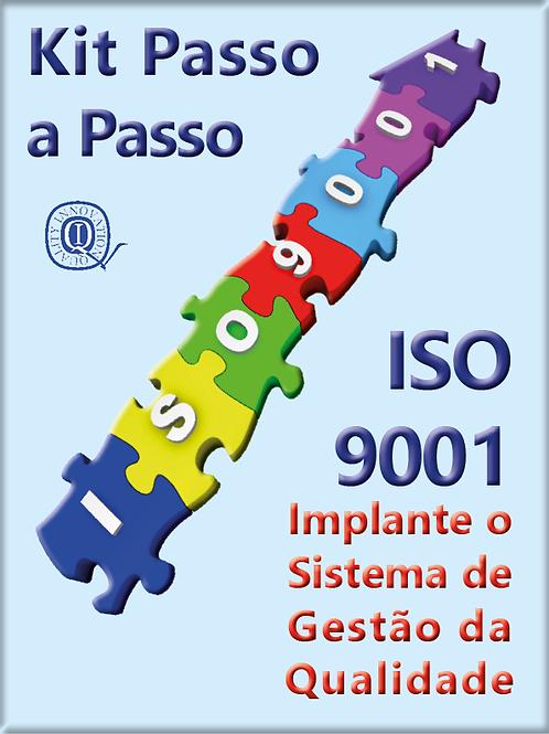 Kit ISO 9001:2015  com todos os materiais