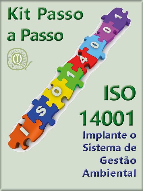 Kit  ISO 14001  com todos os materiais