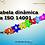 Thumbnail: Tabela dinâmica da ISO 14001