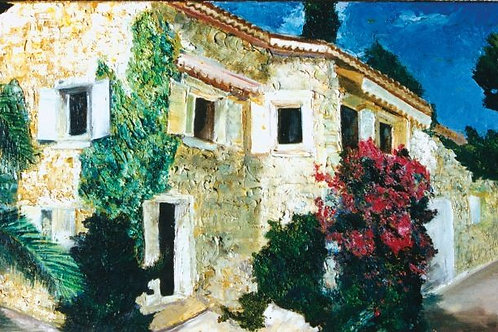 Nature Painting -  The Bougainvillea House