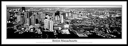 1 Boston Harbor BW 13.5X39 Framed.jpg