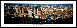 18, Boston Skyline 2011 13.5x39 Framed.j
