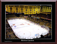 Historic Boston Bruins in the Old Garden